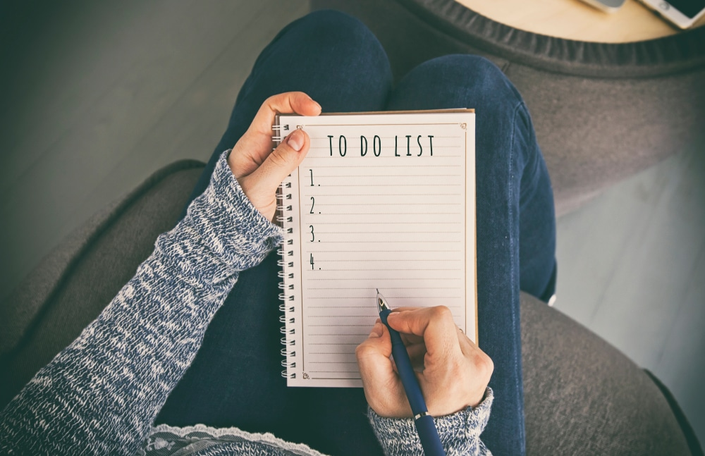 time management to-do list