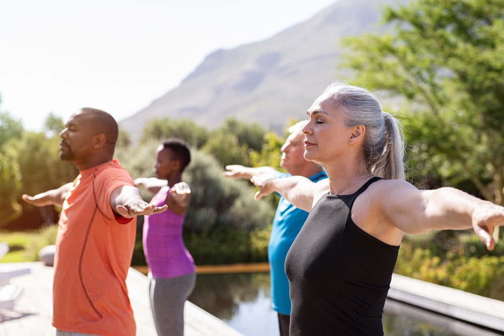 healthy aging with exercise